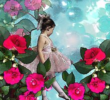 Ballerina in the Flowers by littlefrog7