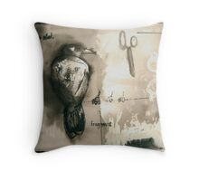 for the rain Throw Pillow