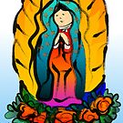 La Virgin de Guadalupe by elledeegee