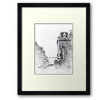 The Belvedere Framed Print