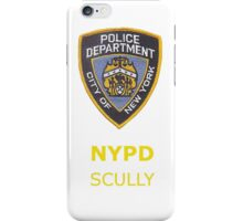 Detective Scully iPhone Case/Skin