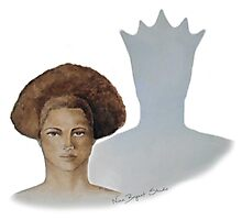 Her Hair, Her Crown Photographic Print