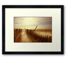Nauset Beach, Early Morning. Framed Print