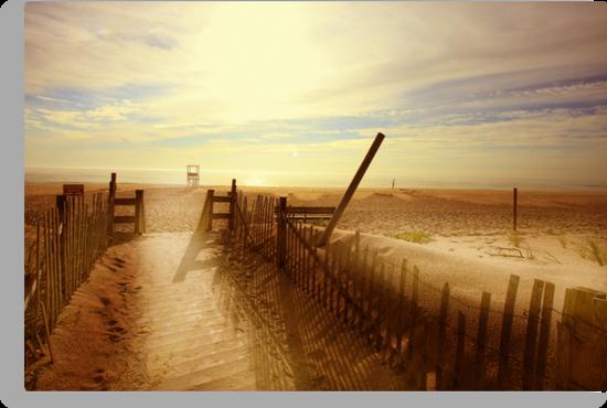 Nauset Beach, Early Morning. by capecodart