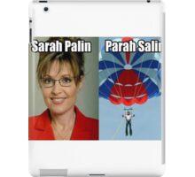 Sarah Palin Parasailin iPad Case/Skin