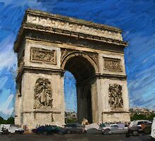Arc de Triomphe by Alan Findlater
