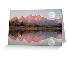 TETON MORNING Greeting Card
