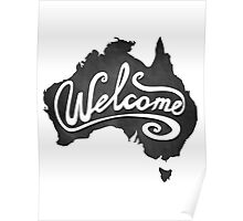 Welcome Australia Poster