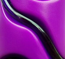 Purple Straw Rollercoaster by Robert Goulet