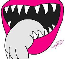Tongue Got Your Cat by Jesse Lebon by jesselebon