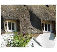 Under a Thatched Roof Poster