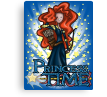 Princess Time - Merida Canvas Print