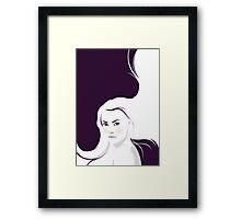 Bad Passion (White Version) Framed Print