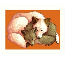Mother and Cub Art Print