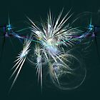 Energised Spikes - Abstract Art by Rod Johnson