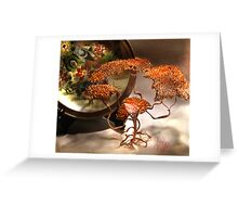 Copper Lady Greeting Card