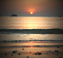 Sunset (again) over Railay Beach by Keiran Lusk