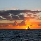 Sunset Sailing by CherilynJoy