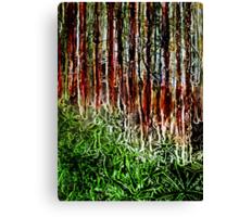 Rainforest - Collagraph/Relief Print Canvas Print