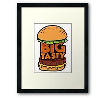 Big Tasty Framed Print