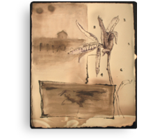 scarecrows don't talk Canvas Print