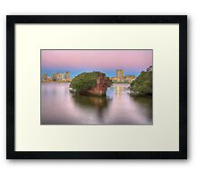 Shades of Yesteryear Framed Print