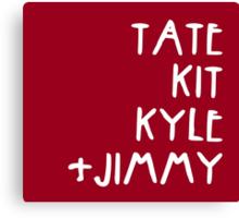 Tate Kit  Kyle Jimmy  Canvas Print