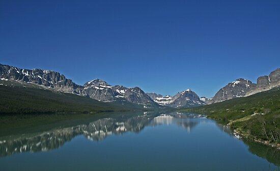 St Mary Lake by Patricia Shriver