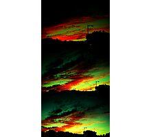 Burning Up Photographic Print