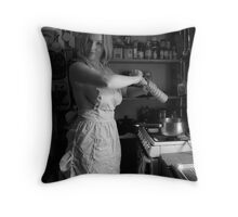 Spicey Throw Pillow