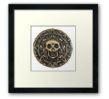 Aztec Curse Framed Print