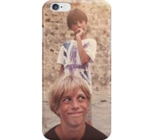 Pulling Faces iPhone Case/Skin