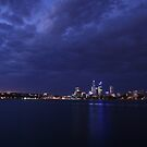 Perth on the Swan by Mark McClare