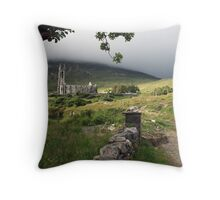 Dunlewey church 2 Throw Pillow
