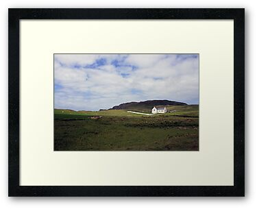 Donegal church by John Quinn