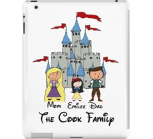 Fairy Tale Choose your character Castle Family Vacation PERSONALIZED ~DO NOT PURCHASE THIS SAMPLE. SEE DESCRIPTION iPad Case/Skin