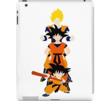 Dragonball Z History of Goku  iPad Case/Skin