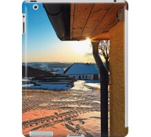 Sunny winter afternoon at the farm | landscape photography iPad Case/Skin