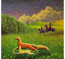 Pictish hunting scene Photographic Print