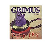 Grimus - Deep Fry by lilterra.com Photographic Print