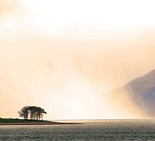 Mist on the Loch by Kenart