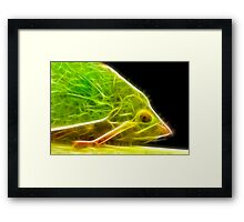 Green Hopper F2 Framed Print