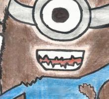Monkey Minion Sticker