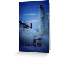 Ice Reaper Greeting Card
