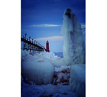 Ice Reaper Photographic Print