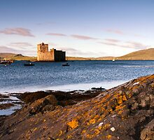 Barra: Kisimul Castle Morning by Kasia-D