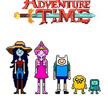 Minecraft graphics adventure time by Baipodo