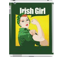 Rosie Riveter Irish Girl iPad Case/Skin