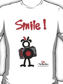 Red - The New Guy - Smile ! T-Shirt
