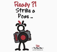 Red - The New Guy - Ready ?! Strike a Pose .. by RedTheNewGuy